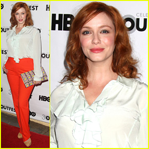 Christina Hendricks: 'Struck By Lightning' L.A. Premiere!
