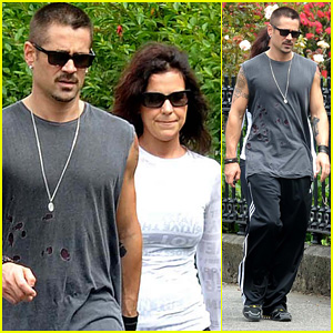 Colin Farrell: Early Morning Dublin Stroll