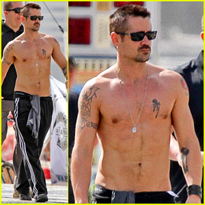 Colin Farrell: Shirtless in Rio!