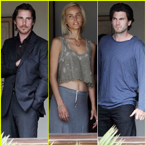 Christian Bale: Window Gazing for 'Knight of Cups'