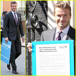 David Beckham Fights Child Hunger with UNICEF