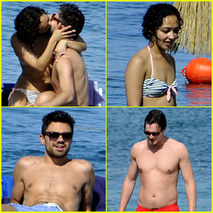 Dominic Cooper: PDA-Filled Vacation with Ruth Negga!