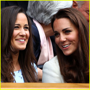 Duchess Kate & Pippa Middleton: Wimbledon Finals!