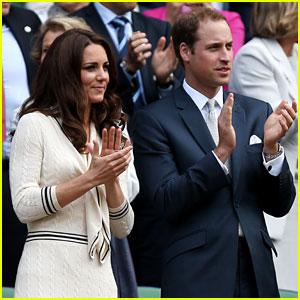 Duchess Kate & Prince William: Wimbledon Championships!
