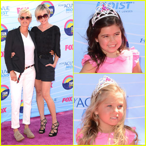 Ellen Degeneres & Portia de Rossi - Teen Choice Awards 2012