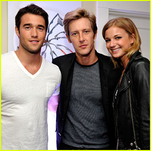 Emily VanCamp & Josh Bowman: 'Revenge' at Carrera Launch!