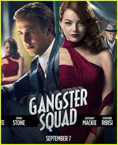 Ryan Gosling & Emma Stone: New 'Gangster Squad' Poster!