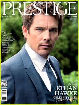 Ethan Hawke Covers 'Prestige Hong Kong' July 2012