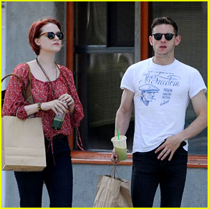 Evan Rachel Wood & Jamie Bell Cleanse with Moon Juice!