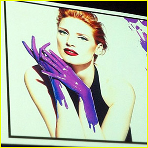 Jessica Chastain: Yves Saint Laurent 'Manifesto' Ad - First Look!