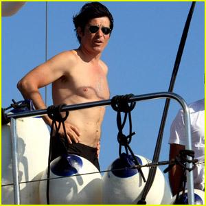 Goran Visjnic: Shirtless Sailor!