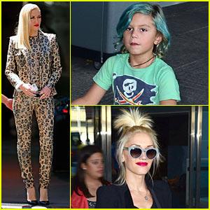 Gwen Stefani: Jaguar Print Suit!
