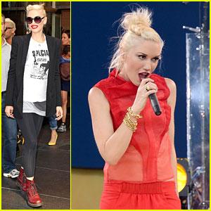 Gwen Stefani & No Doubt: 'Good Morning America'!