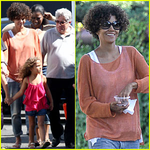 Halle Berry: 'Hive' Weekend with Nahla!