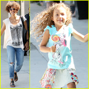 Halle Berry & Nahla: Color Us Ours!