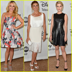 Hayden Panettiere & Connie Britton: TCA Press Tour!
