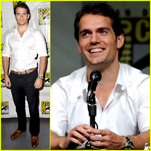 Henry Cavill: 'Man of Steel' Panel at Comic-Con 2012