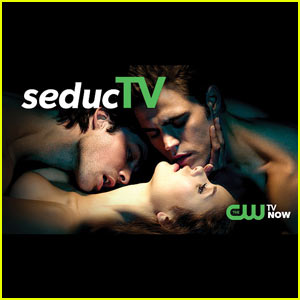 Ian Somerhalder & Nina Dobrev: The CW's New Tagline is 'TV Now'