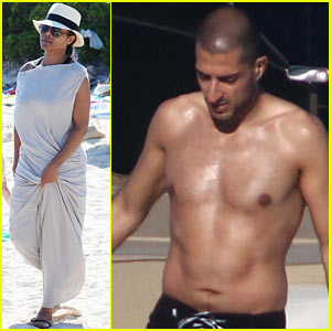 Janet Jackson: Sardinia Vacation with Shirtless Wissam Al Mana!