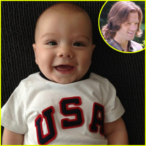 Jared Padalecki's Baby Thomas: 'Go USA!'