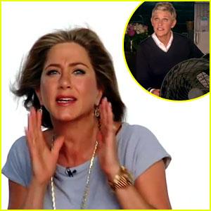 Jennifer Aniston: Blown Away by Ellen DeGeneres in Promo!