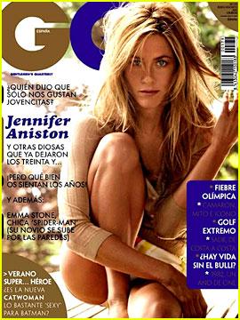 Jennifer Aniston Covers Gq Spain