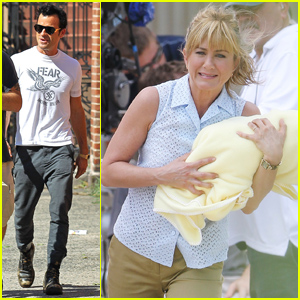 Jennifer Aniston & Justin Theroux: Busy Couple!