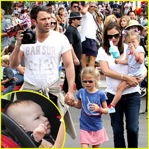 Jennifer Garner & Ben Affleck: 4th of July Party with Samuel!
