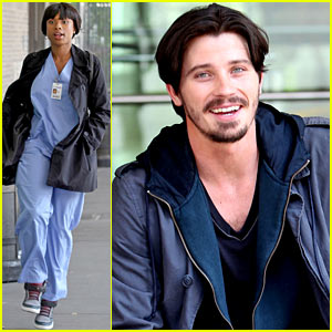 Jennifer Hudson &#038; Garrett Hedlund: 'Lullaby' Filming!