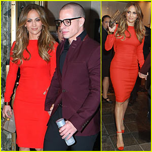 Jennifer Lopez: Birthday Celebration with Casper Smart!