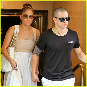 Jennifer Lopez: Birthday Lunch with Casper Smart!
