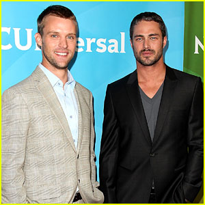 Jesse Spencer & Taylor Kinney: NBC Universal Press Tour!