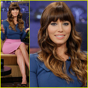 Jessica Biel: 'Tonight Show with Jay Leno' Appearance!