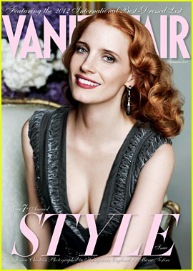 Jessica Chastain Covers 'Vanity Fair' September Style Issue