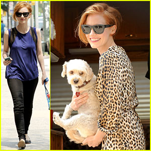 Jessica Chastain: 'Eleanor Rigby' Set with Chaplin!