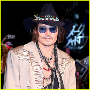 Johnny Depp: 'Grand Budapest Hotel' Star!