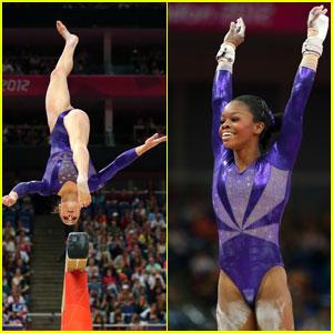 Women's Gymnastics Team Lead Qualifying Round at Olympics