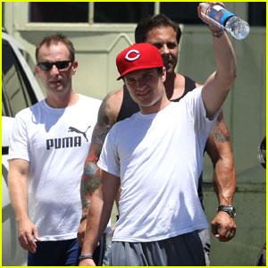 Josh Hutcherson: Gym Smiles