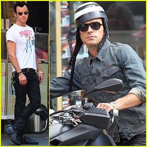 Justin Theroux: New York Shopper!