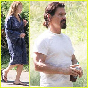 Kate Winslet & Josh Brolin: 'Labor Day' Set!