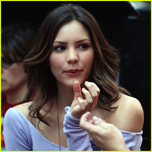 Katharine McPhee: 'Smash' In Times Square!