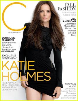 Katie Holmes Covers 'C Magazine' September 2012