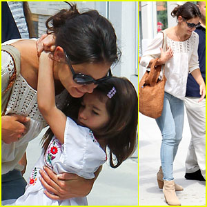 Katie Holmes: Children's Museum with Suri!