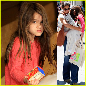 Katie Holmes &#038; Suri: Sunday Shoppers!
