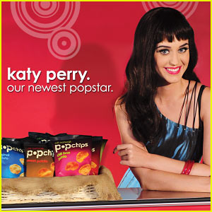 Katy Perry: Popchips' New Face!