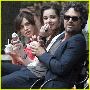 Keira Knightley &#038; Mark Ruffalo: 'Song' Ice Cream Break!