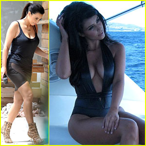 Kim Kardashian: Rockin' Beach Body!