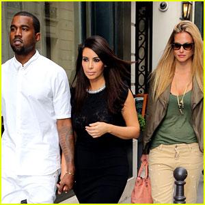 Kim Kardashian & Kanye West: Fashion Fun with Bar Refaeli!