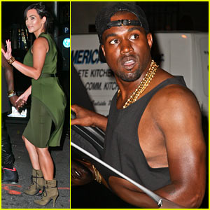 Kim Kardashian & Kanye West: 'Fela!' Broadway Date Night!