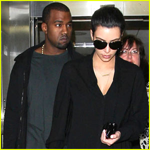 Kim Kardashian & Kanye West: Back in Los Angeles!